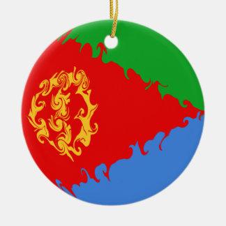 Bandeira Gnarly de Eritrea Enfeites