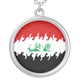 Bandeira Gnarly de Iraque Bijuteria Personalizada