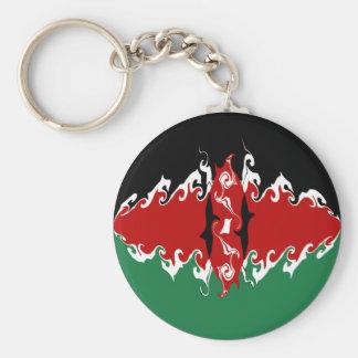 Bandeira Gnarly de Kenya Chaveiro