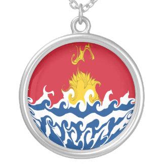 Bandeira Gnarly de Kiribati Colares Personalizados