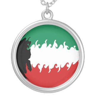 Bandeira Gnarly de Kuwait Bijuteria