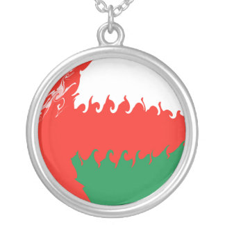 Bandeira Gnarly de Oman Pingentes