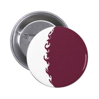 Bandeira Gnarly de Qatar Botons