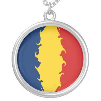Bandeira Gnarly de República do Tchad Bijuterias