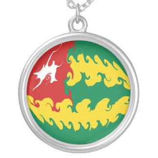 Bandeira Gnarly de Togo Colares Personalizados