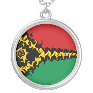 Bandeira Gnarly de Vanuatu Colar Personalizado