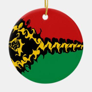 Bandeira Gnarly de Vanuatu Enfeites Para Arvore De Natal