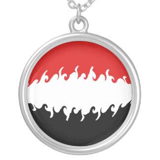 Bandeira Gnarly de Yemen Bijuterias Personalizadas