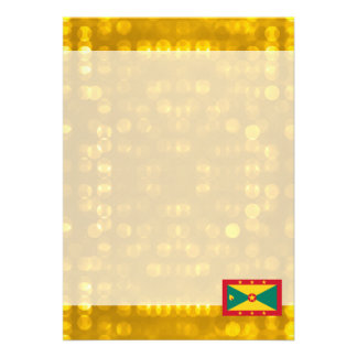 Bandeira granadina oficial convite 12.27 x 17.78cm