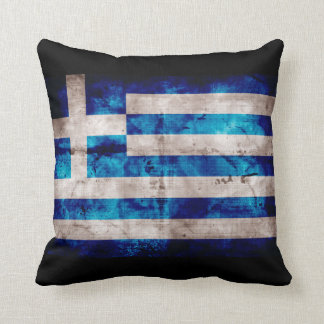 Bandeira grega travesseiro