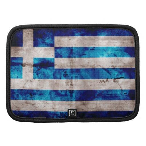 Bandeira grega organizadores