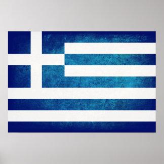Bandeira grega impressão