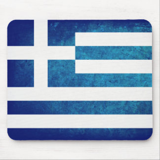 Bandeira grega mouse pad