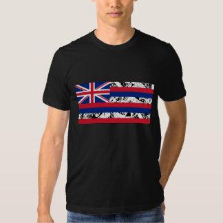 Bandeira havaiana do estado - estilo polinésio t-shirt