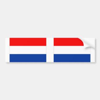 Bandeira holandesa adesivos