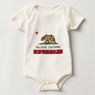 bandeira Hollister de Califórnia afligido Body Para Bebê