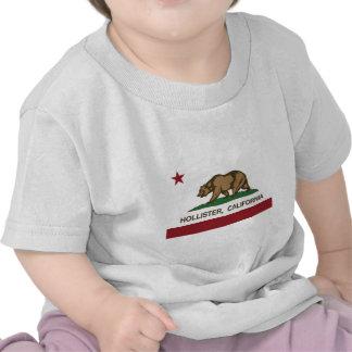 bandeira Hollister de Califórnia Tshirts
