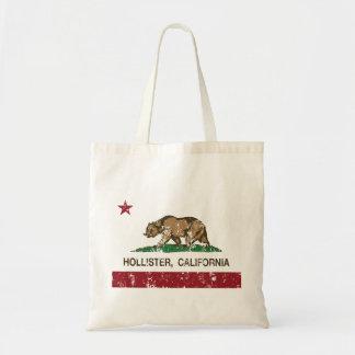 Bandeira Hollister do estado de Califórnia Sacola Tote Budget