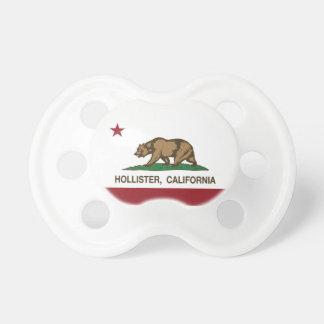 Bandeira Hollister do estado de Califórnia Chupeta Para Bebê