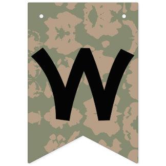 Bandeira Home bem-vinda do exército do pai