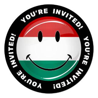 Bandeira húngara de sorriso