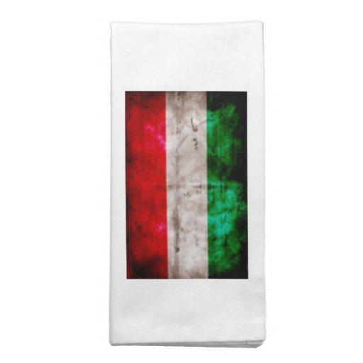 Bandeira húngara guardanapo de pano