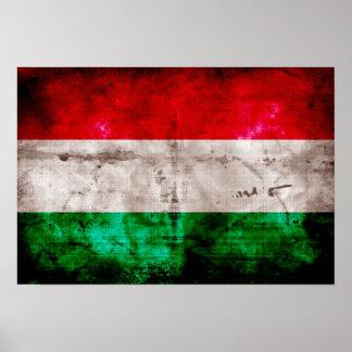 Bandeira húngara posteres