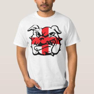 Bandeira impressionante de Inglaterra barato Camiseta