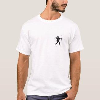 bandeira Inglaterra Robin Hood da região de Camisetas