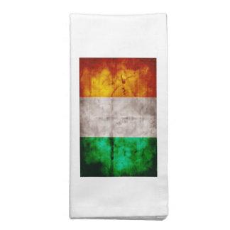Bandeira irlandesa guardanapos