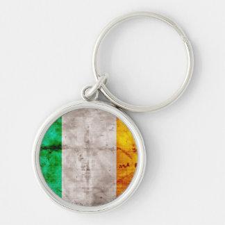 Bandeira irlandesa chaveiros