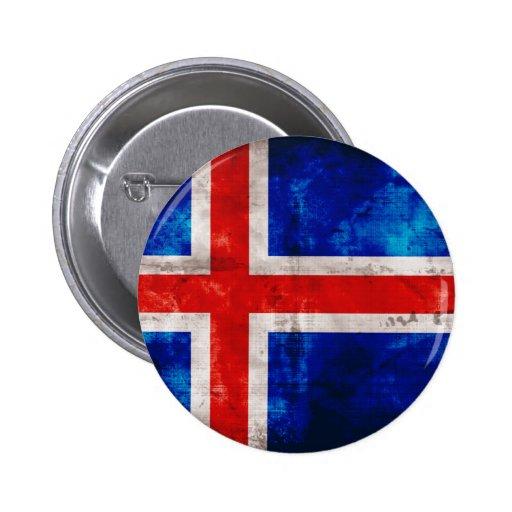 Bandeira islandêsa botons