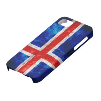 Bandeira islandêsa capa barely there para iPhone 5