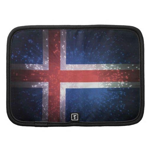 Bandeira islandêsa organizadores
