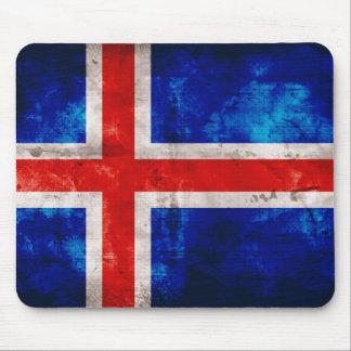 Bandeira islandêsa mouse pads