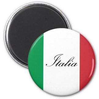 Bandeira italiana - bandeira de Italia - Italia Imã
