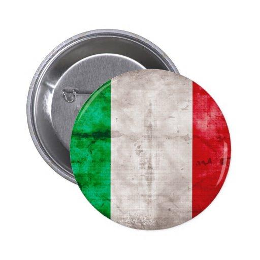 Bandeira italiana boton