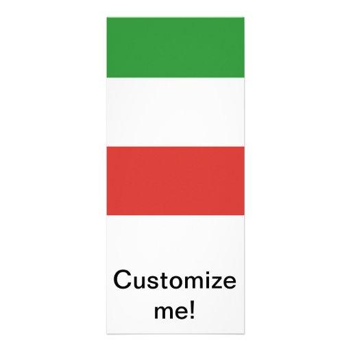 Bandeira italiana convite personalizados