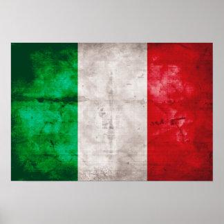 Bandeira italiana posters