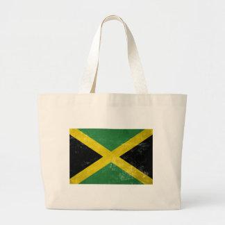 Bandeira jamaicana bolsa tote grande