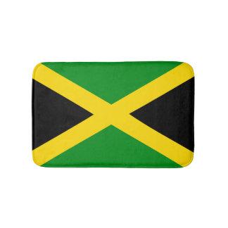 Bandeira jamaicana tapete de banheiro