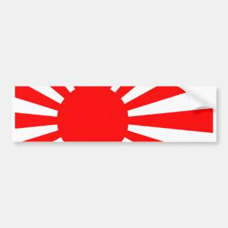 Bandeira japonesa adesivo para carro