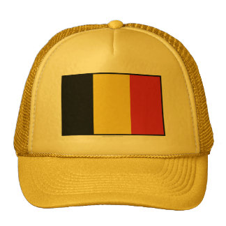 Bandeira lisa de Bélgica Boné