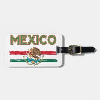 Bandeira mexicana de México Etiqueta De Mala