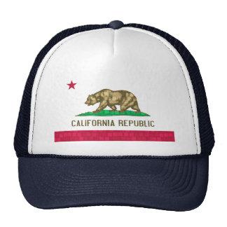 Bandeira moderna do californiano do teste padrão bones