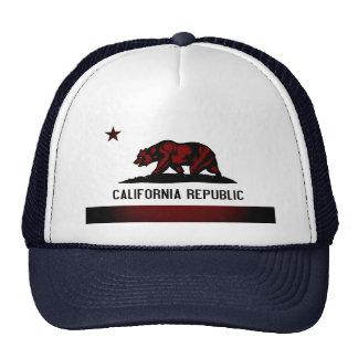 Bandeira monocromática de Califórnia Boné