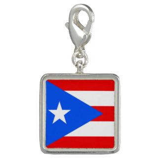 Bandeira na moda de Puerto Rico do bracelete do