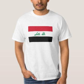 Bandeira nacional atual de Iraque Camiseta