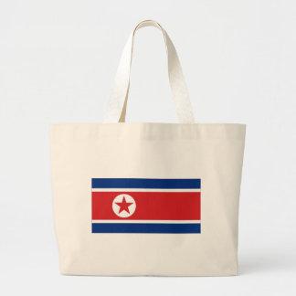 Bandeira nacional da Coreia do Norte Bolsa