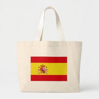 Bandeira nacional da espanha simplificada bolsa